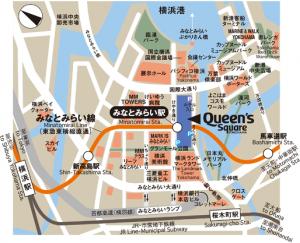 クイーンズスクエアマップ